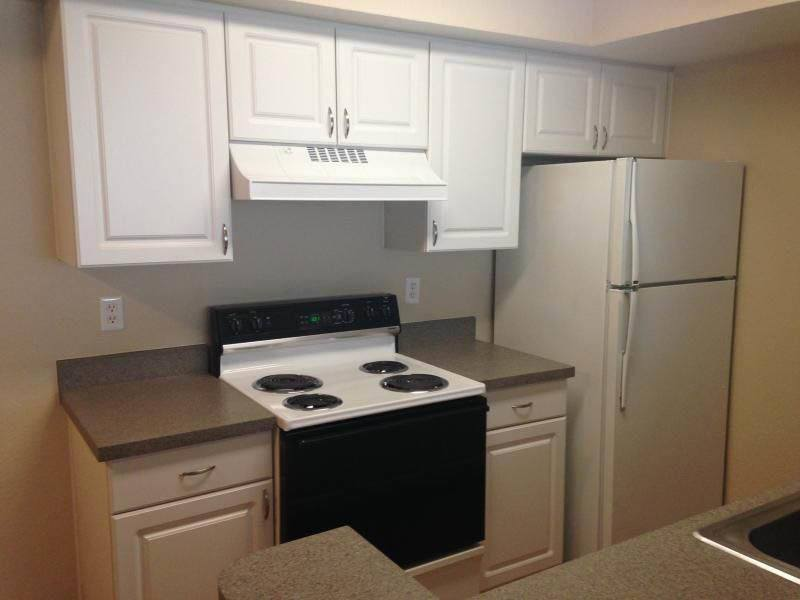 Kitchen at apartments in Brandon, FL
