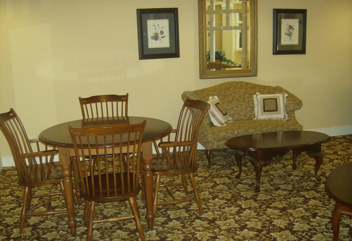 Spacious living room at Atlantic at Twin Hickory in Glen Allen