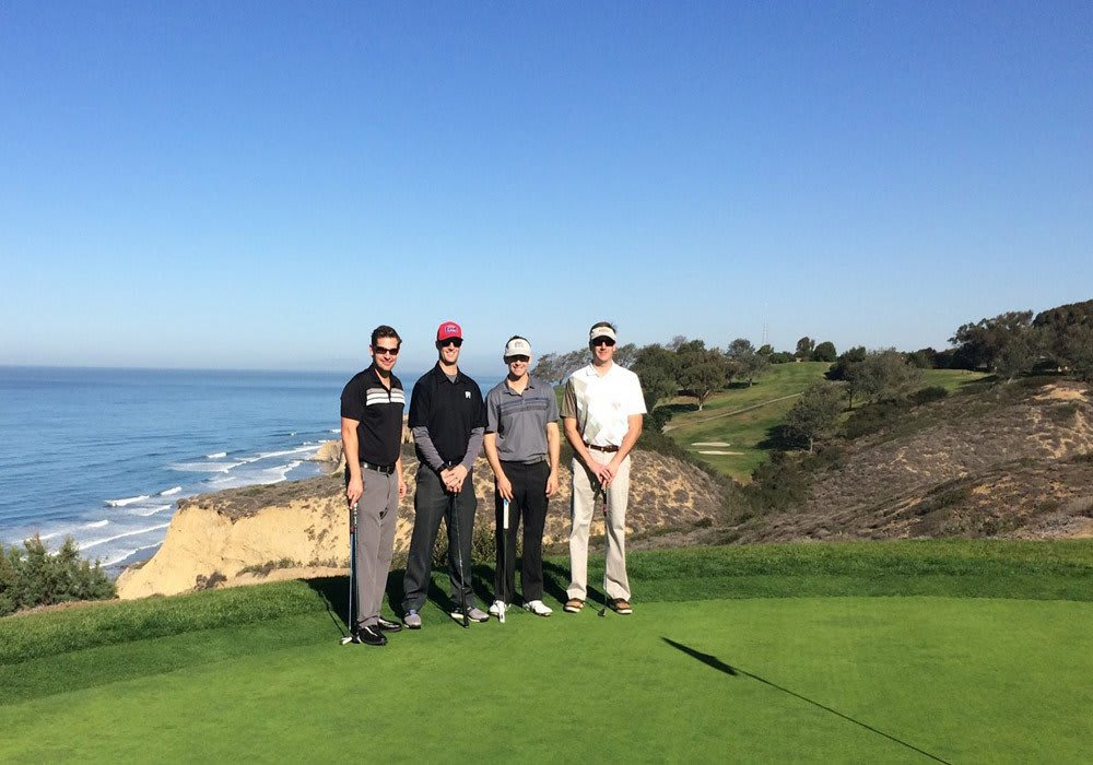 G5 Employees Playing Golf