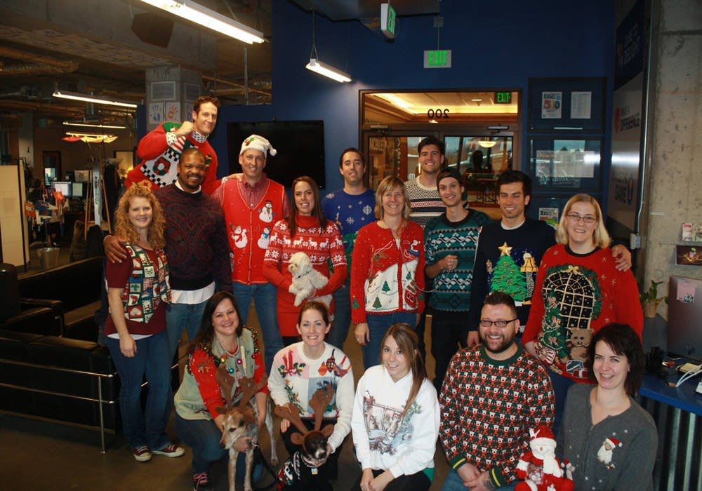 Ugly Holiday Sweater Day at G5