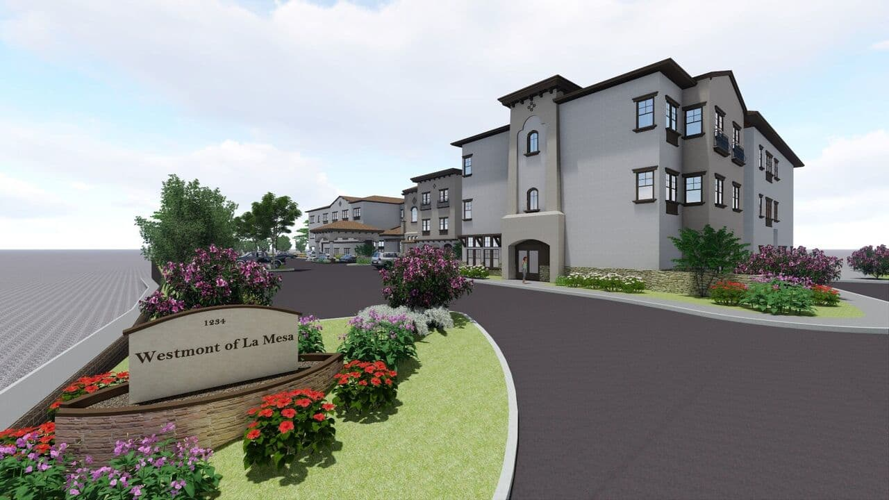 3D Rendering of Westmont of La Mesa in La Mesa, California
