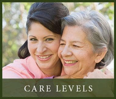 View our different levels of care at Pinole Senior Village