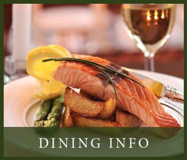 Dinning info at The Oaks at Nipomo