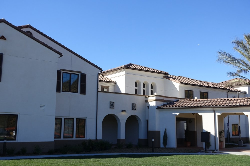 The front of our community at Westmont at San Miguel Ranch in Chula Vista, CA