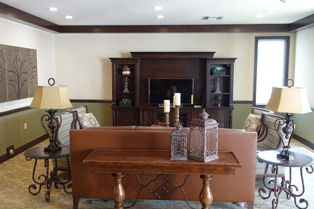Large, comfortable living room for residents at Westmont at San Miguel Ranch