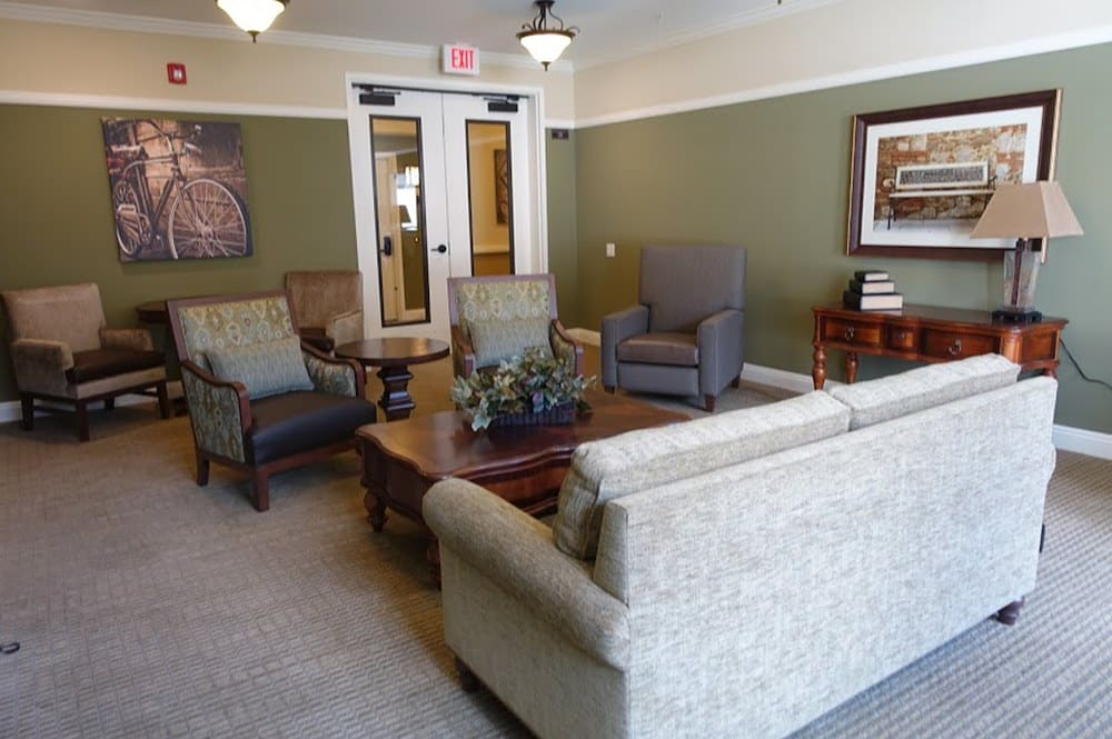 A large living room at Westmont at San Miguel Ranch