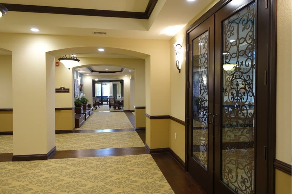 Our large lobby is welcoming and clean at Westmont at San Miguel Ranch
