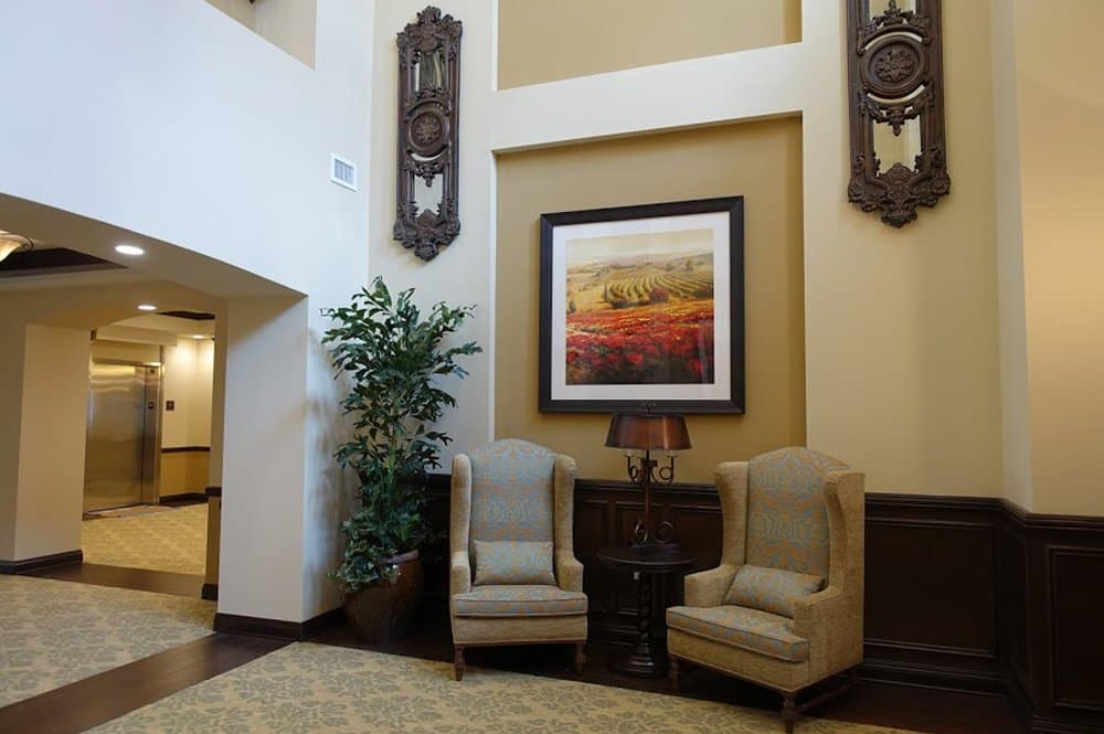 Our great lobby at Westmont at San Miguel Ranch