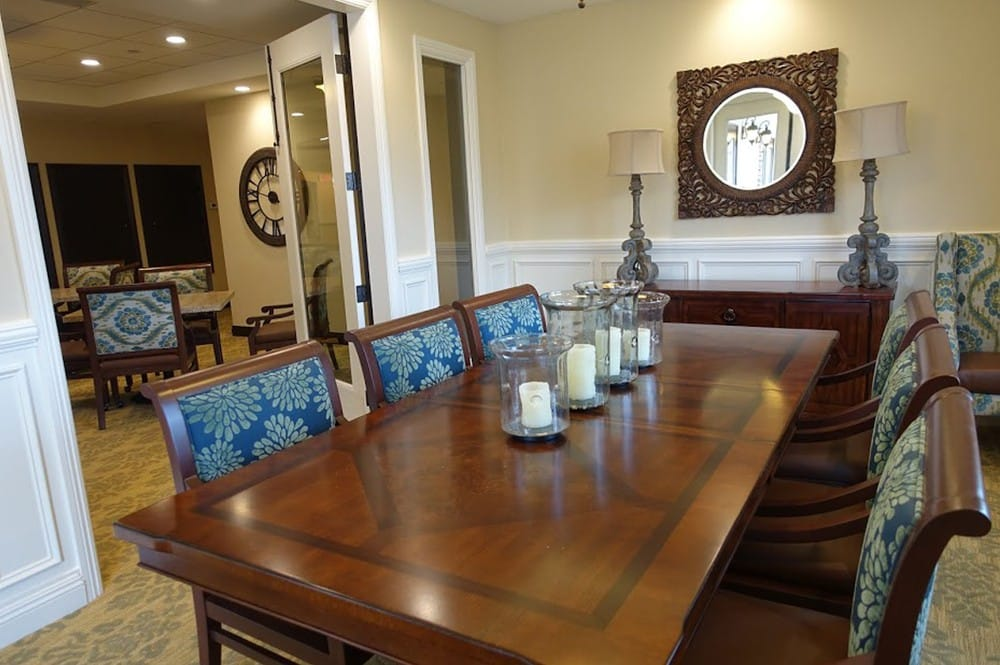 Large, private dining area at Westmont at San Miguel Ranch