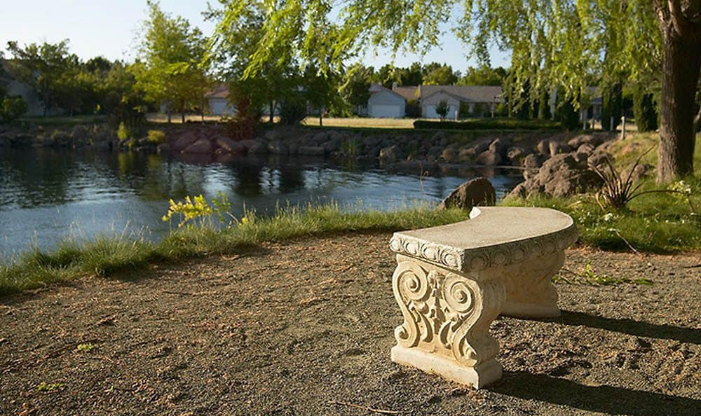 Pond At Our Chico Senior Living Community