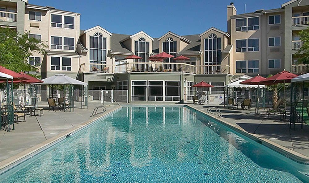 Pool At Our Chico Senior Living Community