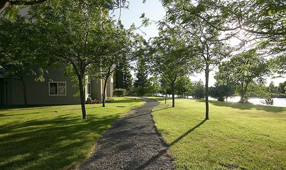Walking Trail At Our Chico Senior Living Community