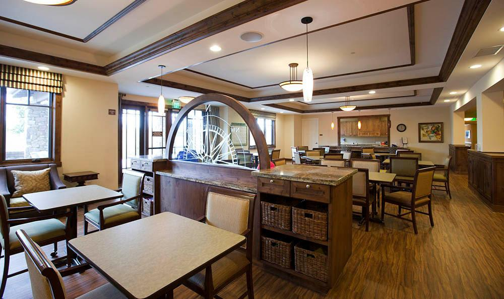 Bistro At Our Senior Living Community In Morgan Hill Ca