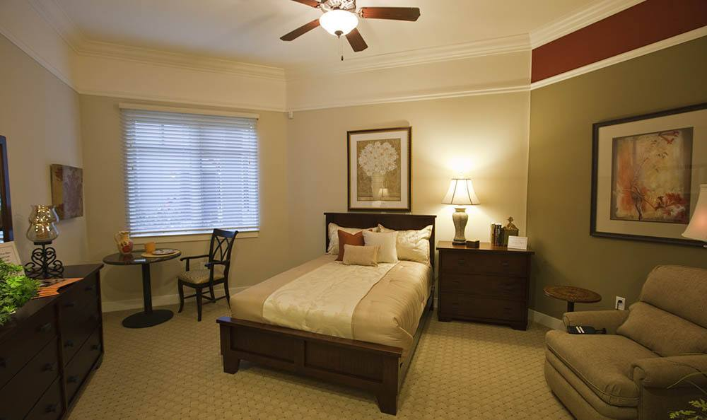 Designer Rooms At Our Senior Living Community In Morgan Hill Ca