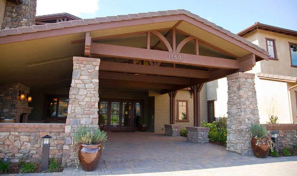 Exterior Of Our Senior Living Community In Morgan Hill Ca