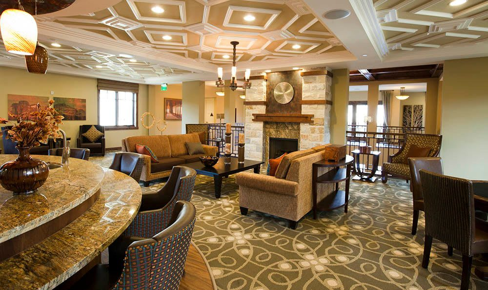 Lounge At Our Senior Living Community In Morgan Hill Ca