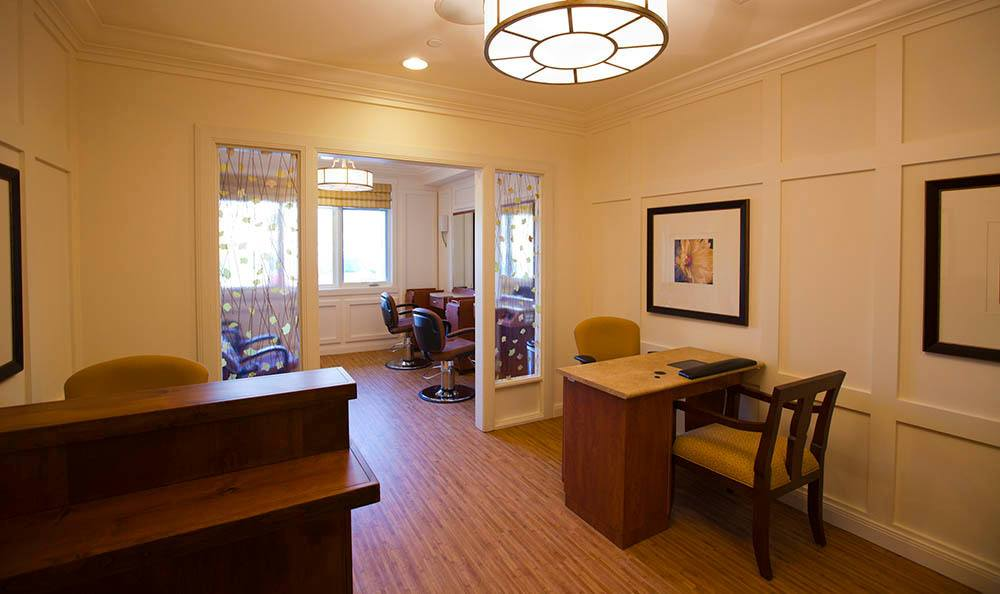 Salon At Our Senior Living Community In Morgan Hill Ca