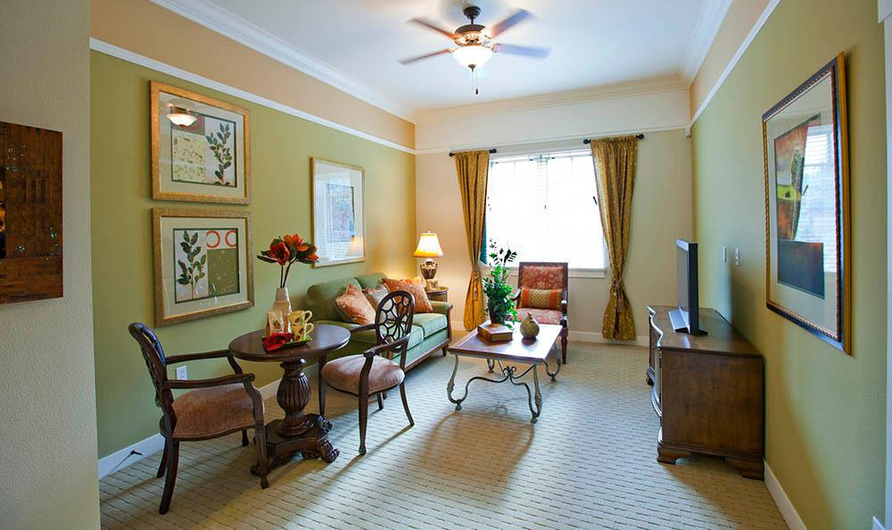 Spacious Apartment At Our Senior Living Community In Morgan Hill Ca