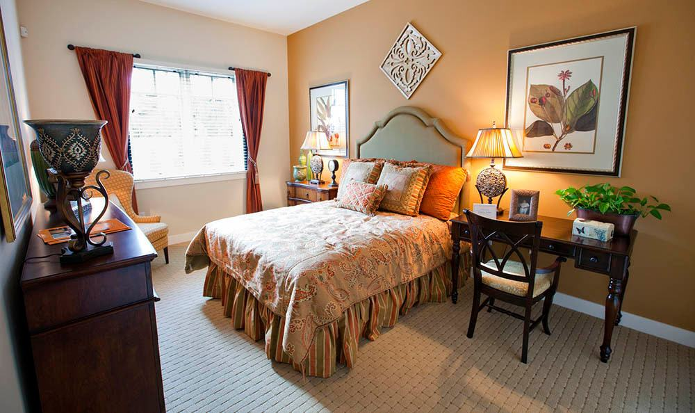 Spacious Bedrooms At Our Senior Living Community In Morgan Hill Ca