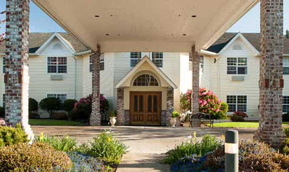 Front Of Our Lincoln City Senior Living Facility