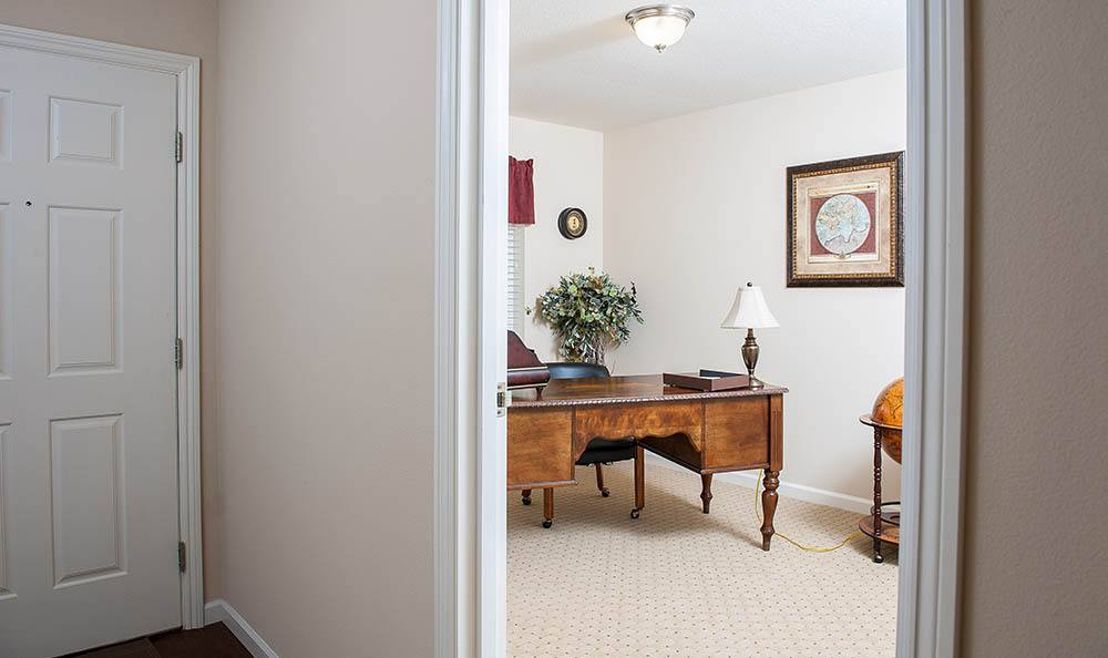 Hallway At Our Lincoln City Senior Living Facility