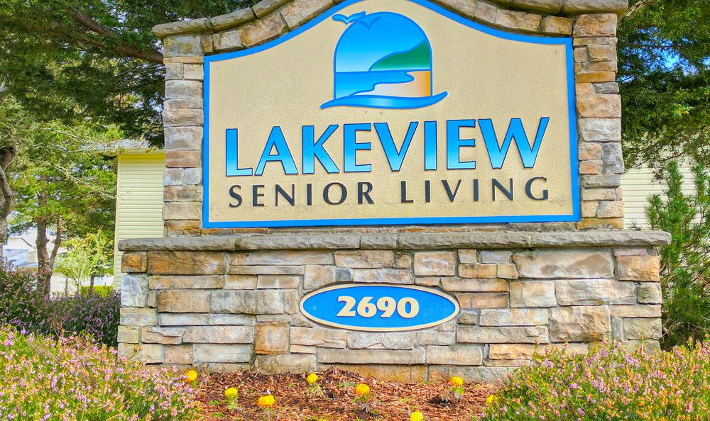 Sign At Our Lincoln City Senior Living Facility