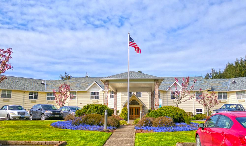 Exterior Of Our Lincoln City Senior Living Facility