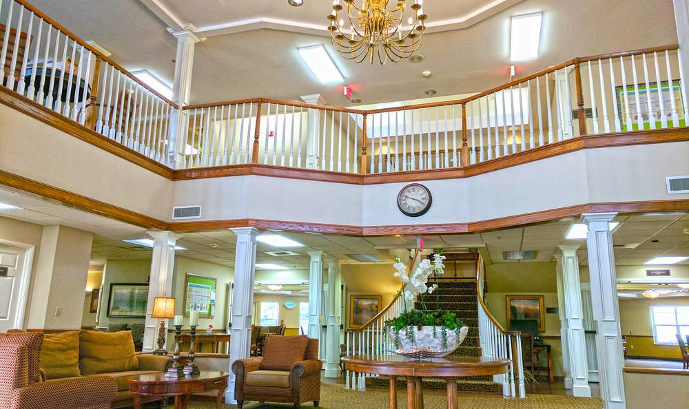 Social Area at senior living in Lincoln City