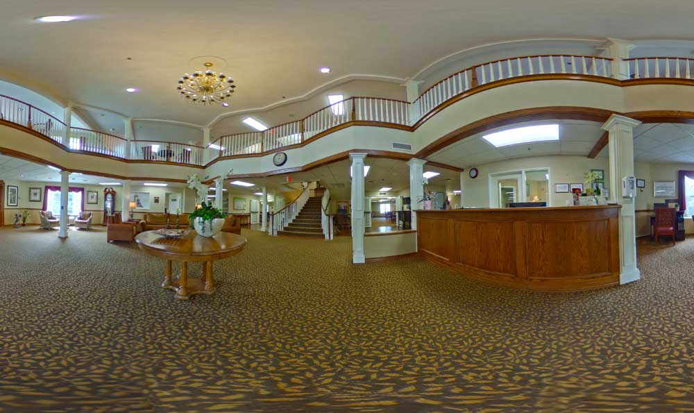 Front lobby at Lakeview