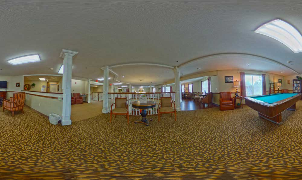 Common area at Lakeview