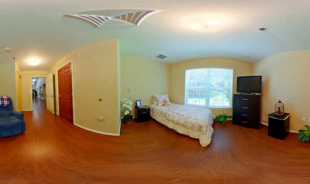 Bedroom at Lakeview