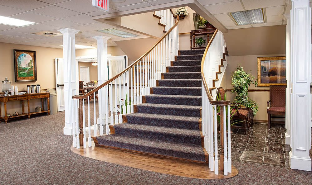 Entrance to senior living in OR
