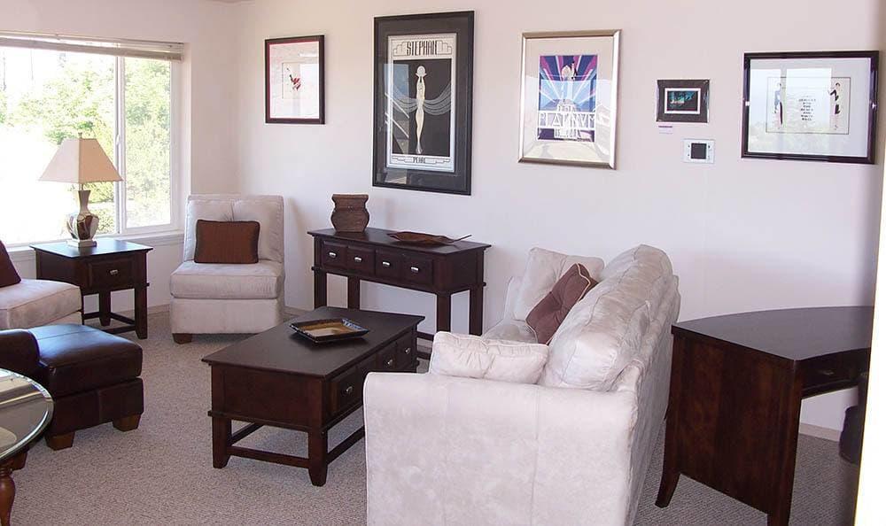 Living Room At Our Newport Oregon Senior Living Community