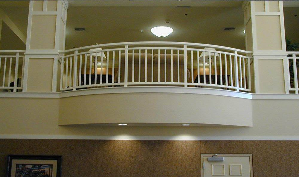 Balcony At Our Senior Living Community In Brentwood