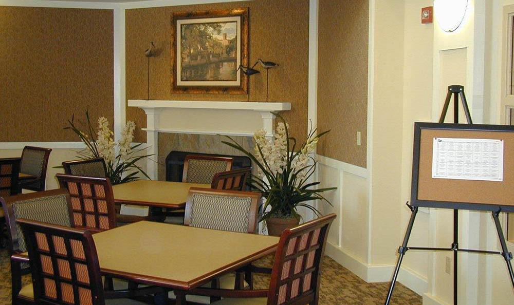 Elegant Dining At Our Senior Living Community In Brentwood
