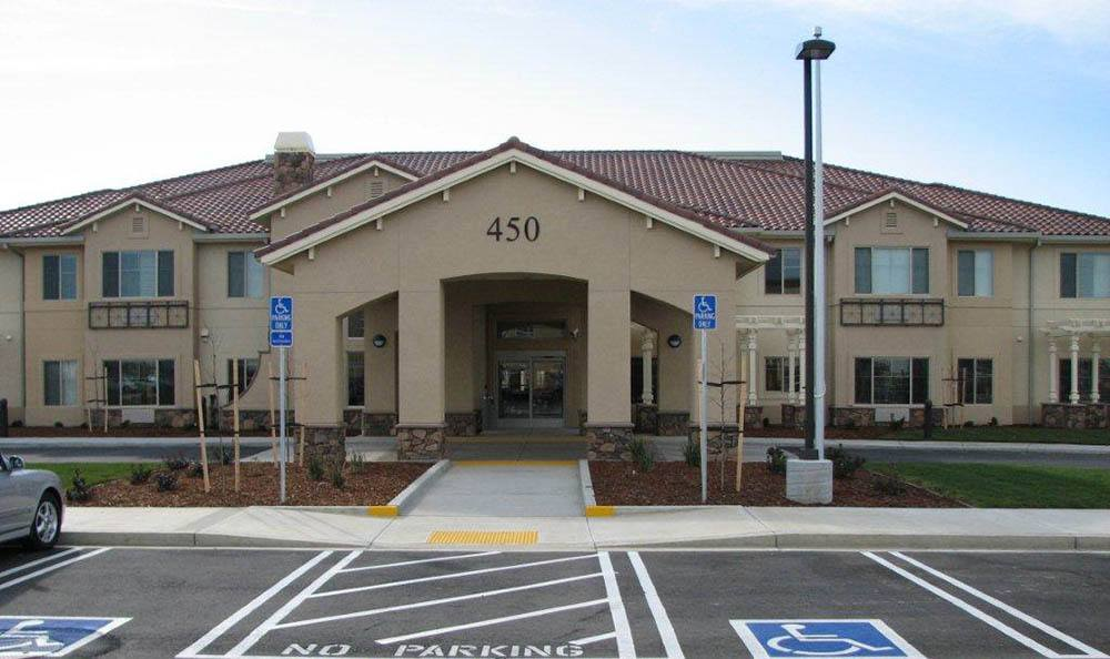 Exterior Of Our Senior Living Community In Brentwood