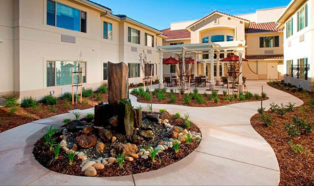Garden At Our Senior Living Community In Brentwood