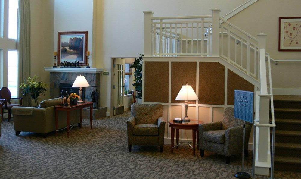 Lounge At Our Senior Living Community In Brentwood