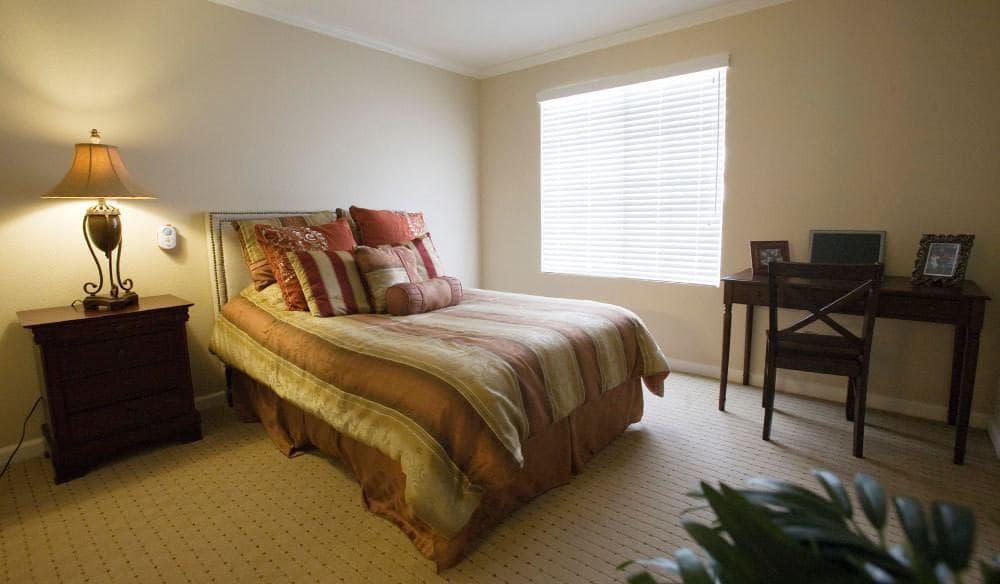 Bedroom At Our Senior Living Community In Escondido Ca