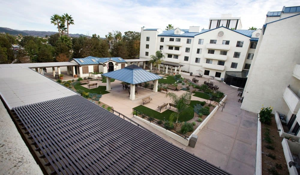 Bird's Eye View Of Our Senior Living Community In Escondido Ca