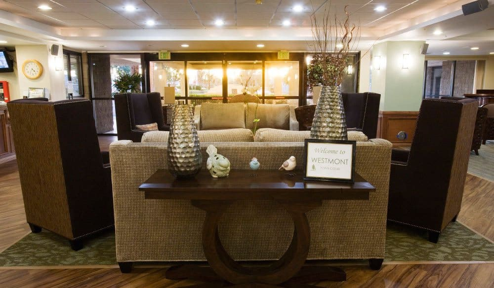 Lounge At Our Senior Living Community In Escondido Ca