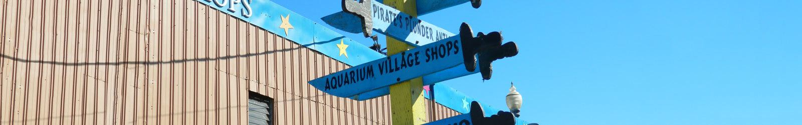 Business listings with Aquarium Village