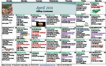 News Amp Calendar At Roseville Commons Senior Living