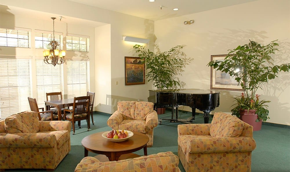 Grass Valley senior living community has relaxing common areas