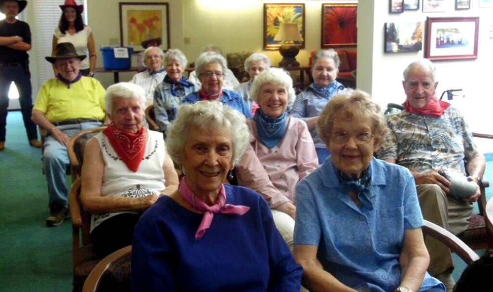 Community Event at the Senior Living community in Grass Valley