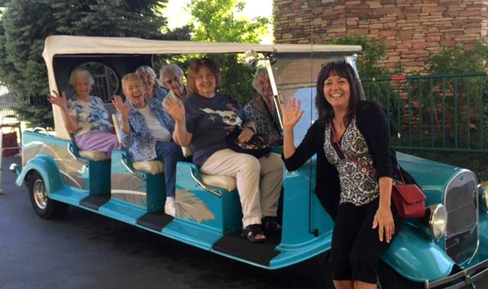 Grass Valley Senior Living Has a Fancy Car Ride for Residents