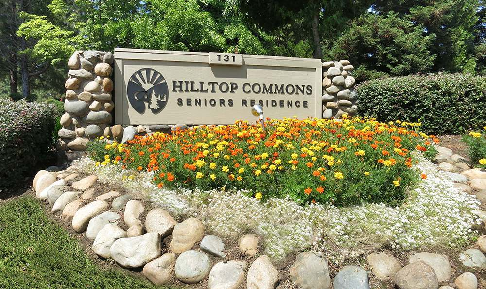 Grass Valley Senior Living has a welcoming Exterior Sign