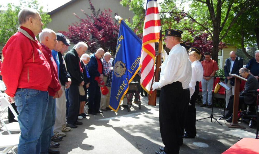 Veterans Day at the Senior Living community in Grass Valley