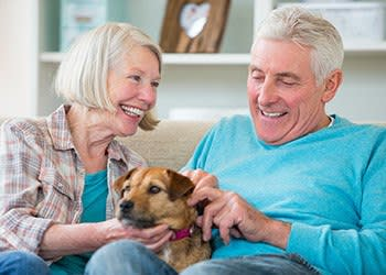 Pet friendly at the senior living community in Sacramento