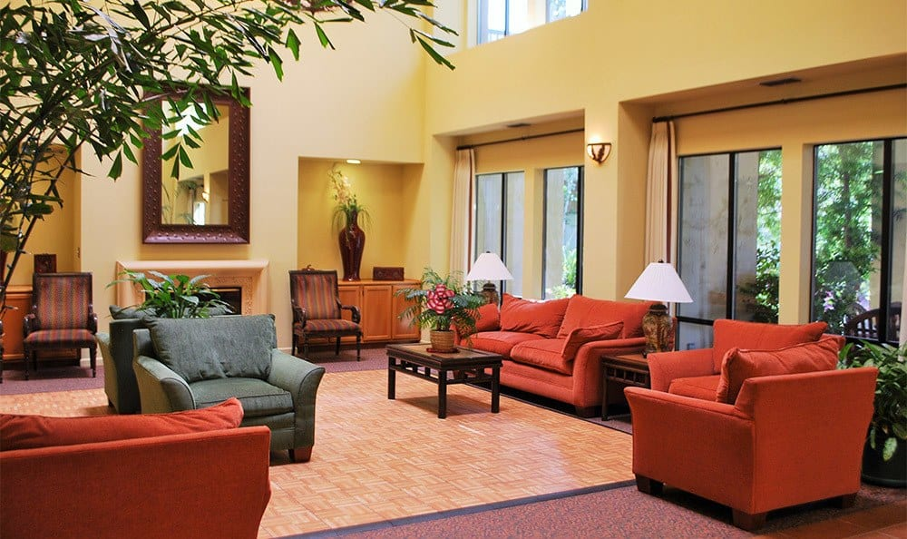 Common Room at the Senior Living in Carmichael